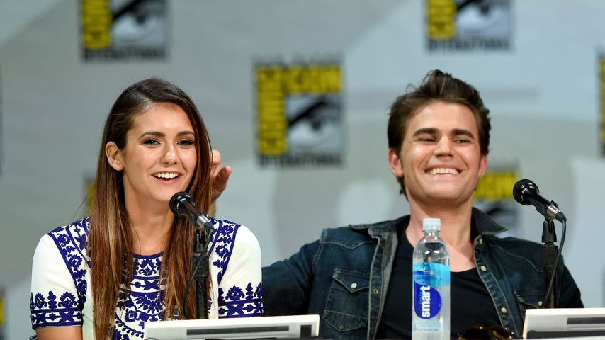 Nina Dobrev und Paul Wesley bei der Comic-Con International 2014 in San Diego