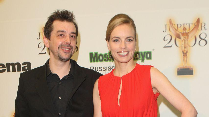 Alex Silva und Nina Hoss im April 2008
