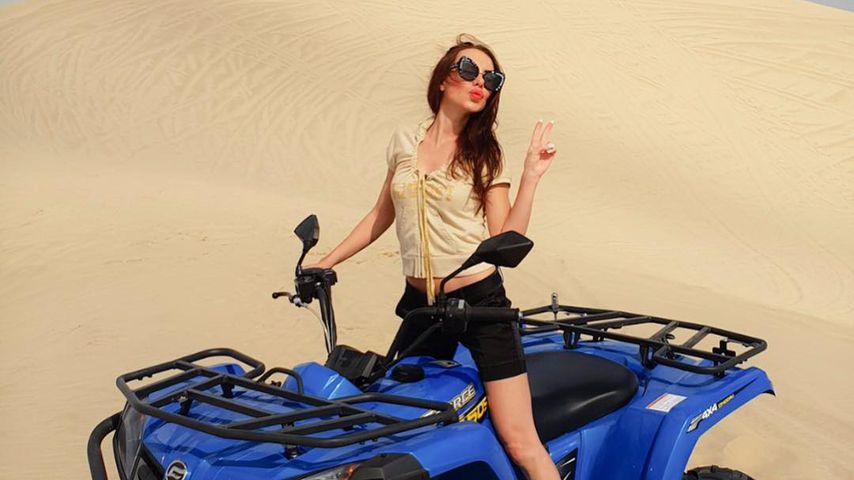 Nina Kristin in Katar