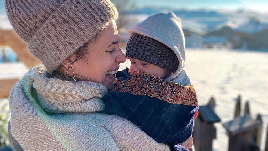 Nina Noel mit ihrem Sohn Lyano