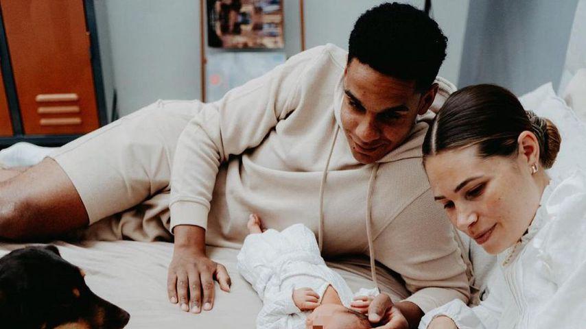 Nina Noel mit ihrer Familie