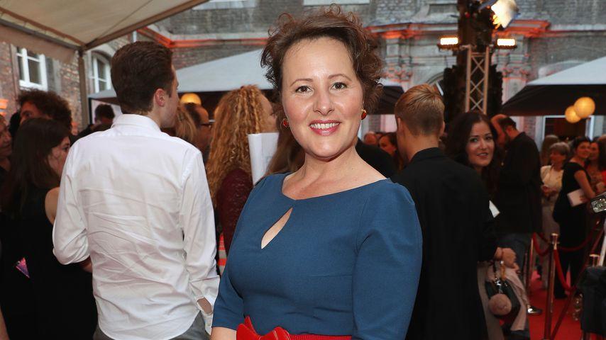 Nina Vorbrodt bei der Sommerparty der Film- und Medienstiftung NRW