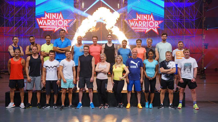 """Gedacht? Diese Promis schaffen den """"Ninja Warrior""""-Parcours!"""