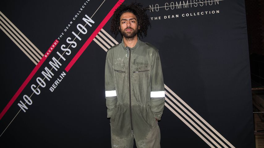 Noah Becker bei dem No Commission Art and Music Event by Swizz Beats and Bacardi Event in Berlin