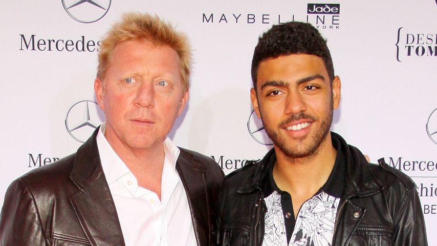 Boris Becker und Noah Becker