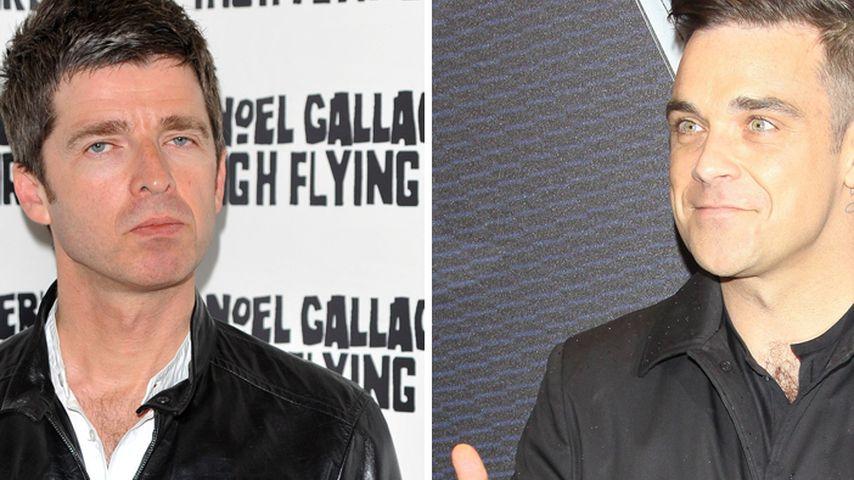 Ehrlich? Robbie Williams verzeiht Noel Gallagher!