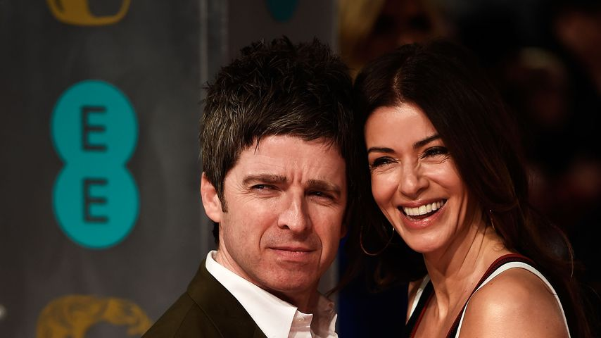 Noel Gallagher und Sara McDonald bei den EE British Academy Film Awards