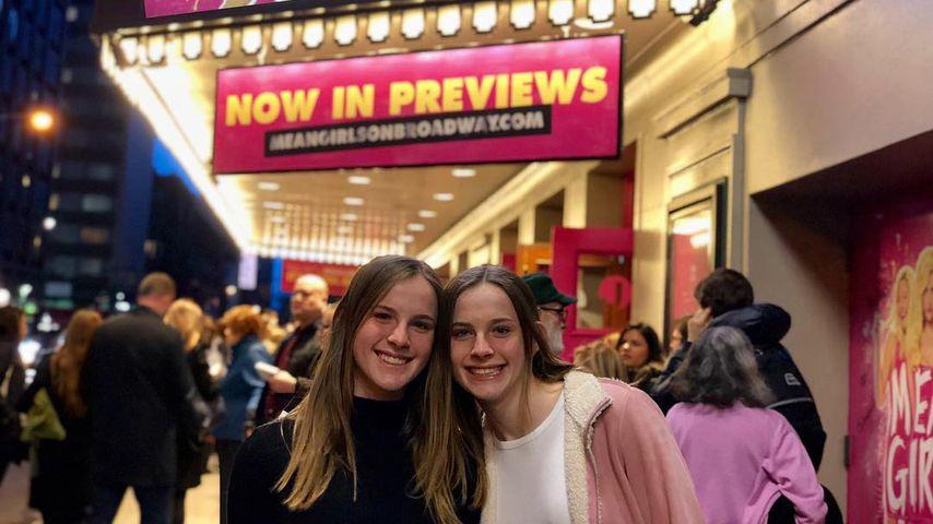 Noelle und Cali Sheldon im April 2018