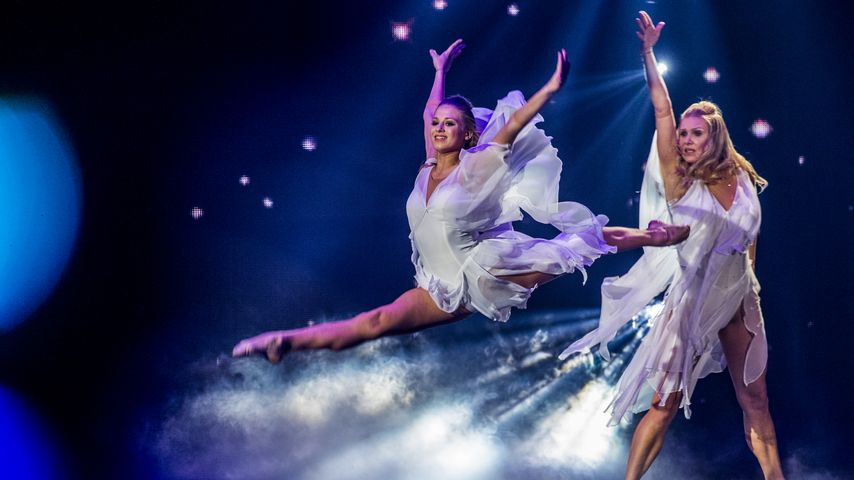 """Noemi Peschel und Magdalena Brzeska bei """"Deutschland tanzt!"""