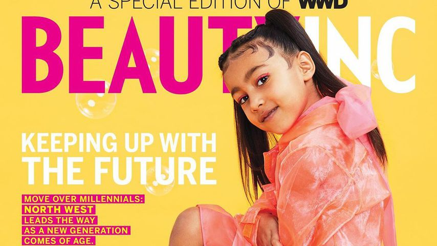 North West auf dem Cover des Magazins WWD