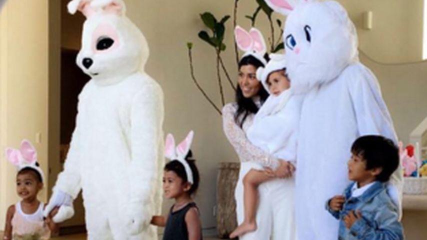 Hasen-Besuch: So schön feierten die Kardashians Ostern