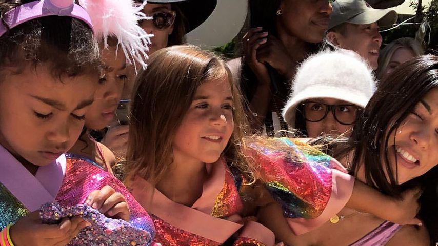 Einhorn-Sause: Luxuriöse Birthday-Party für North & Penelope