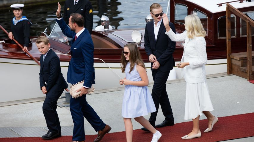 Norwegische Royals in Trondheim