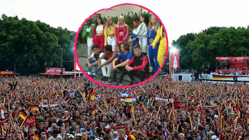 Fußballfans: Diese Popstars heizen auf der Fanmeile ein