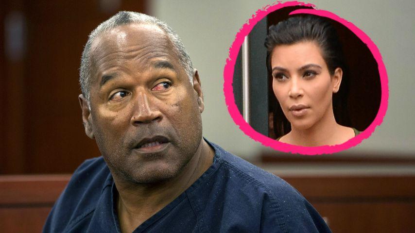 O.J. Simpson wollte sich in Kim Kardashians Zimmer umbringen