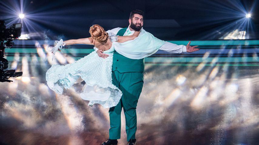 """Oana Nechiti und Faisal Kawusi bei """"Let's Dance"""" in Köln 2017"""