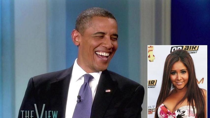Barack Obama und Snooki