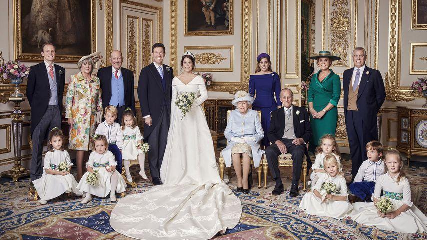 So romantisch: Offizielle Hochzeitsbilder von Eugenie & Jack