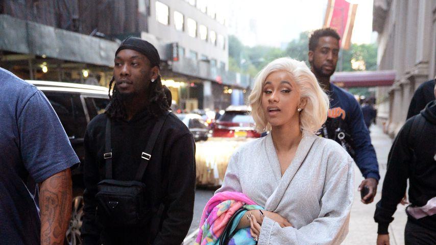 Offset und Cardi B auf dem Weg zur New Yorker Polizei