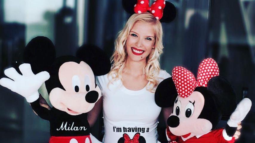 Minnie-Maus! Oksana Kolenitchenko verrät das Baby-Geschlecht