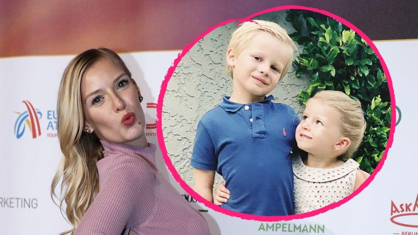 Niedliches Geschwister-Pic: Oksanas Kids verzaubern die Fans