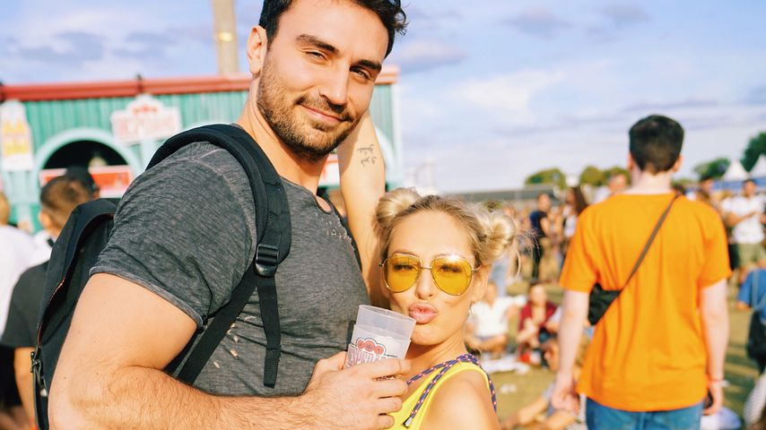 Oleg und Samantha Justus auf dem Lollapalooza-Festival in Berlin