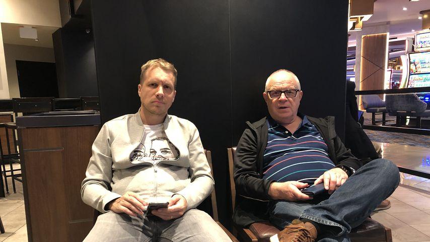 """Oliver Pocher und sein Vater Gerd bei """"Pocher und Papa auf Reisen"""""""