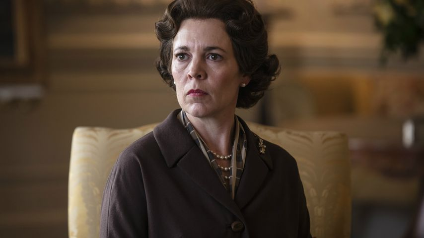 "Olivia Colman als Queen Elizabeth II. in ""The Crown"", Staffel drei"