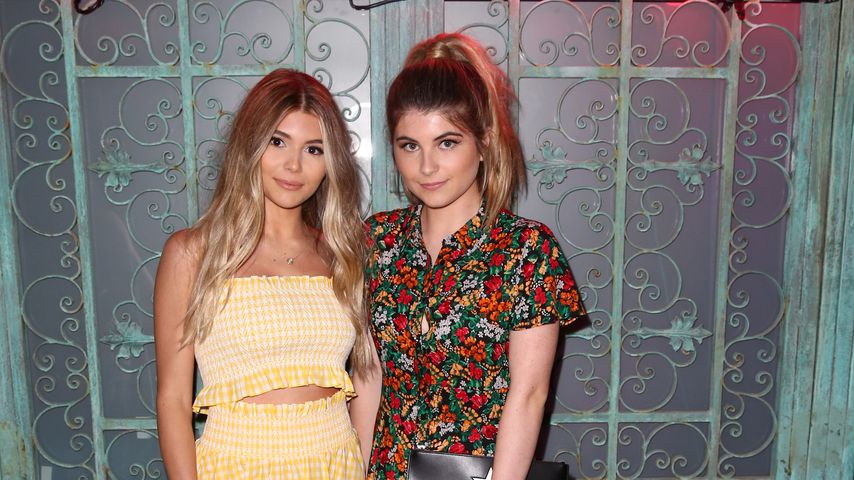 Olivia Jade und Isabella Rose Giannulli bei der Nylon Young Hollywood Party, 2017