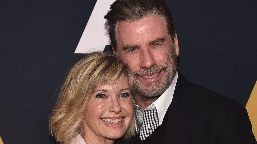 """Olivia Newton-John und John Travolta beim 40. Jubiläum von """"Grease"""""""