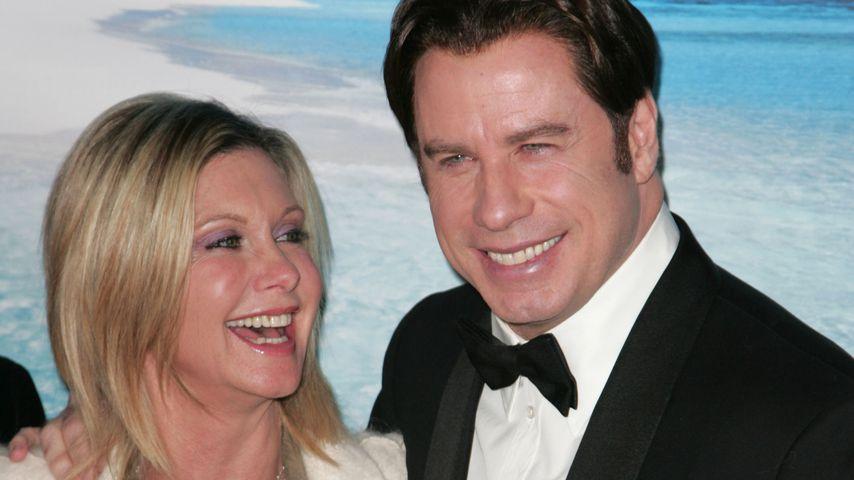 Olivia Newton-John und John Travolta im Januar 2008