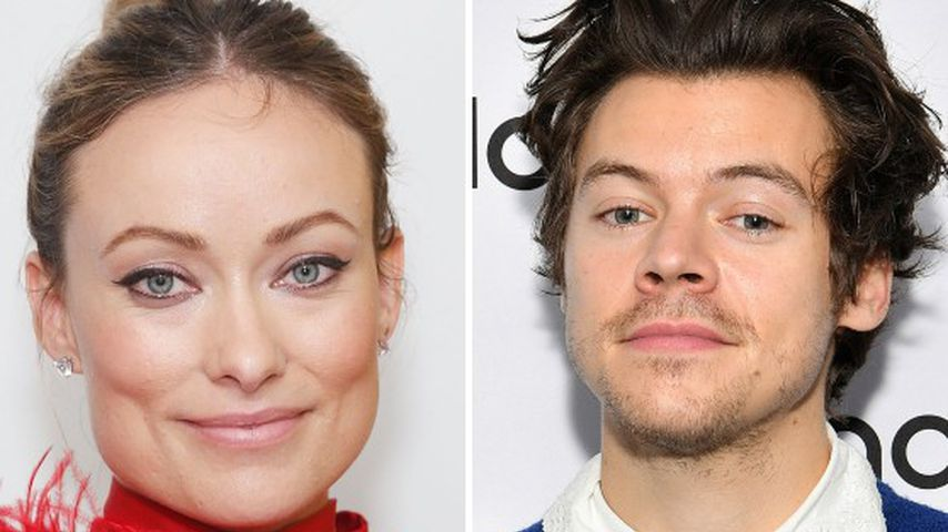 "Süß! Olivia Wilde mit Harry Styles' ""Golden""-Kette gesichtet"