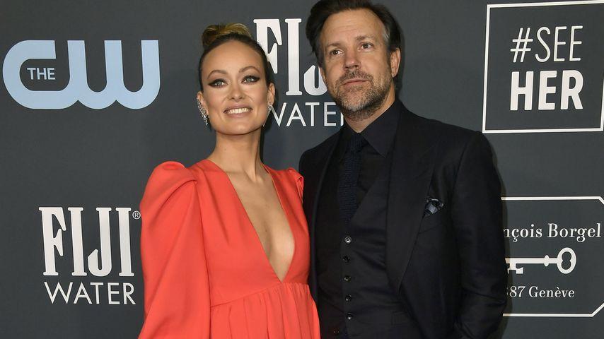 Olivia Wilde and Jason Sudeikis im Januar 2020