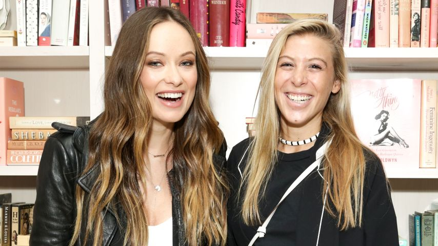 Olivia Wilde und Molly Howard beim Event von Harper's Bazaar in New York