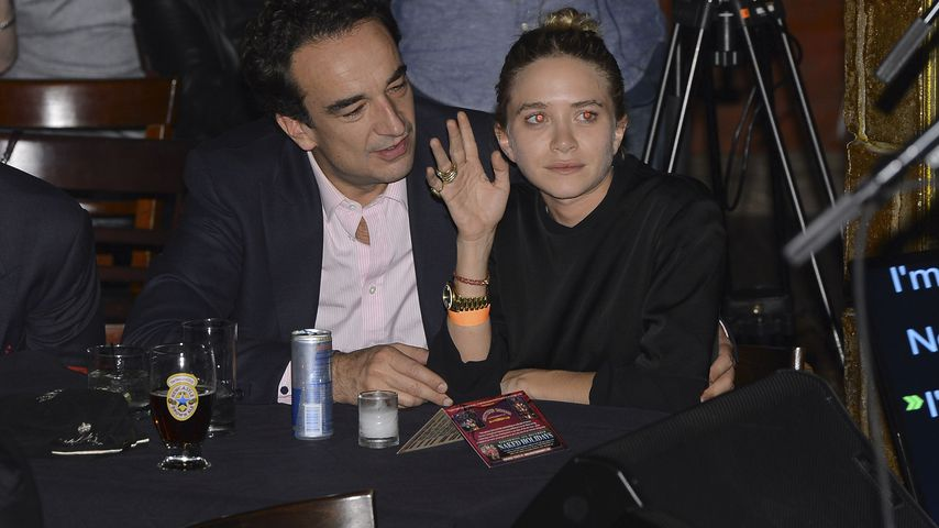 Olivier Sarkozy in einem Club in NYC im November 2013