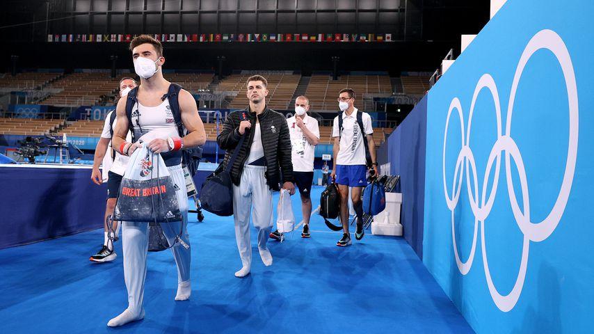 Olympische Sportler in Tokio, 2021