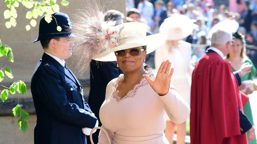 Oprah Winfrey bei der Hochzeit von Prinz Harry und Herzogin Meghan