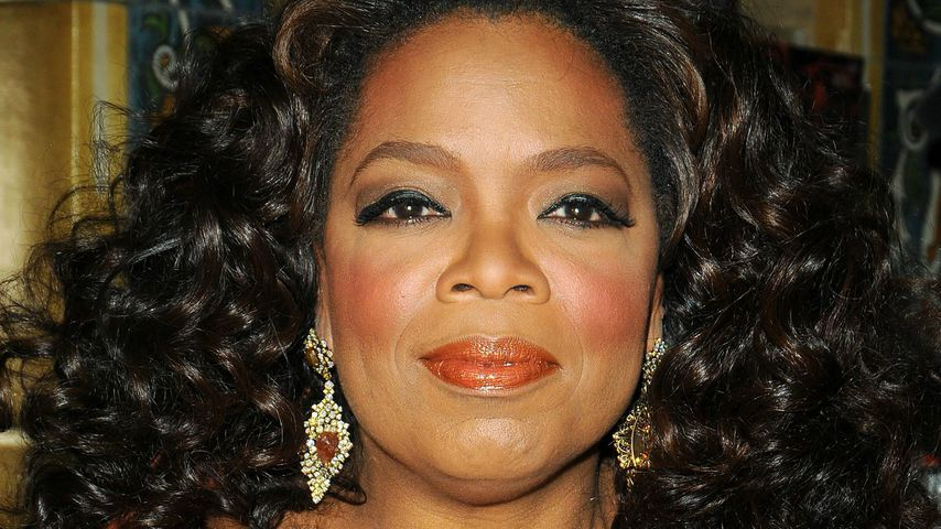 Oprah Winfrey in New York, 2008
