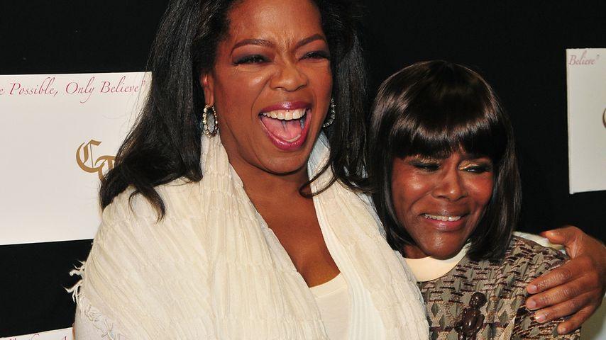 Oprah Winfrey und Cicely Tyson im Oktober 2009