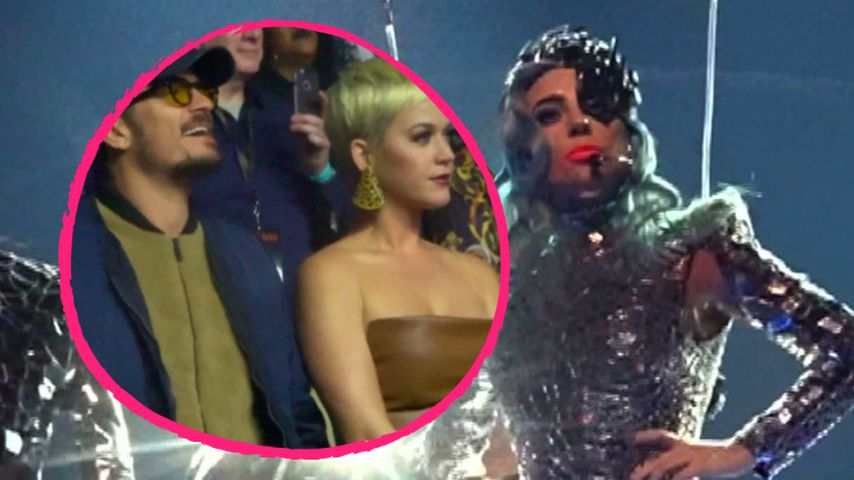 Show-Premiere in Vegas: Katy & Orlando jubeln für Lady Gaga