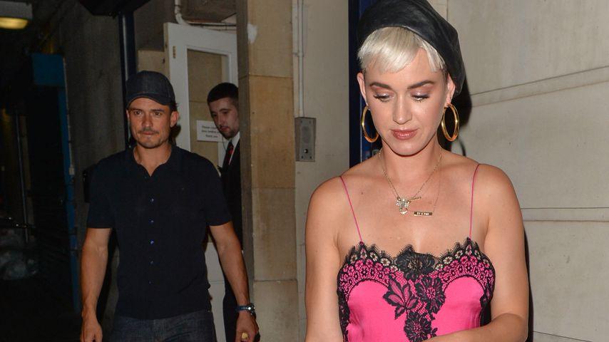 Orlando Bloom und Katy Perry vor dem Annabelle's Club in London