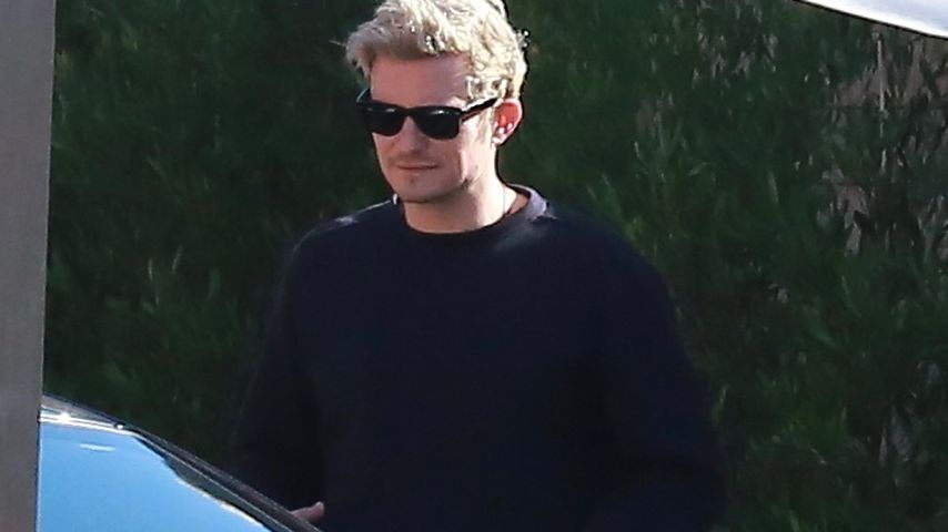 Orlando Bloom vor dem SoHo House in Malibu