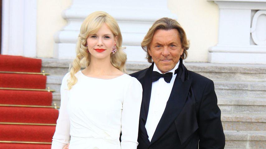Otto Kern mit seiner Frau Naomi Valeska 2012 in Berlin