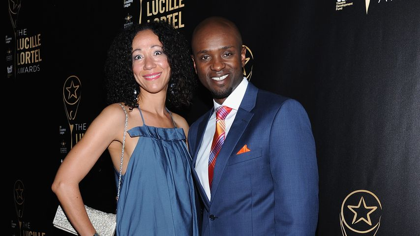 Owiso Odera mit Begleitung beim Lucille Lortel Award