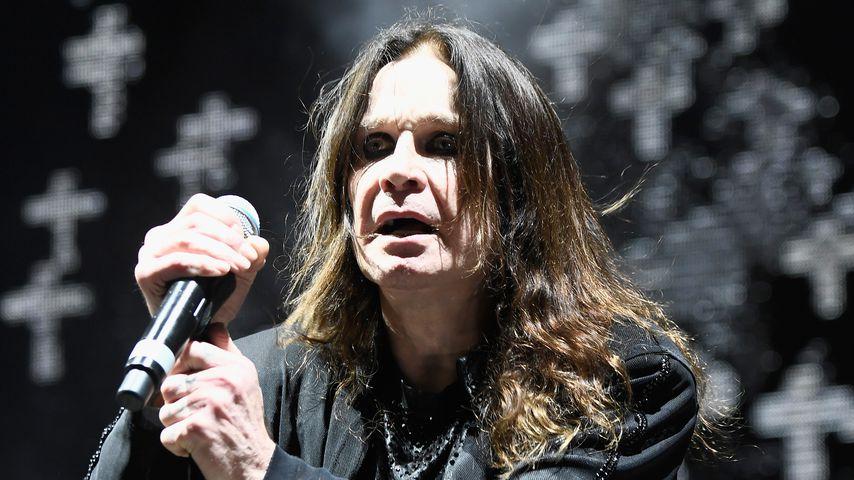 Ozzy Osbourne bei einem Auftritt seiner Band Black Sabbath, September 2016