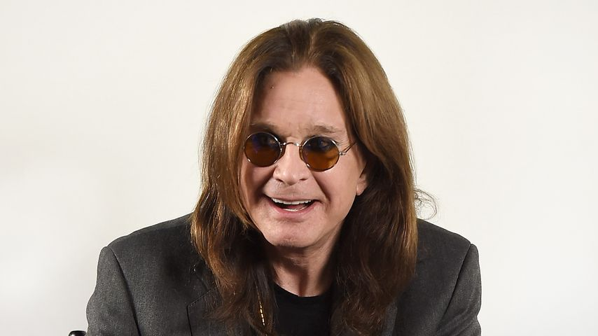 """Ozzy Osbourne bei der Pressekonferenz für seine """"No More Tours 2""""-Tour"""