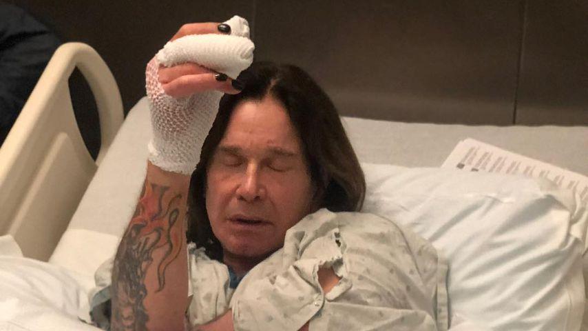 Ozzy Osbourne im Krankenhausbett