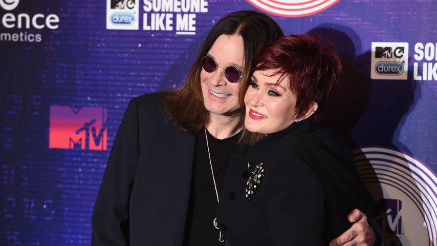 Ozzy Osbourne mit seiner Frau Sharon im November 2014
