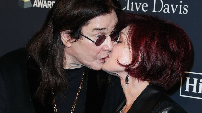 Ozzy Osbourne und Sharon Osbourne im Januar 2020