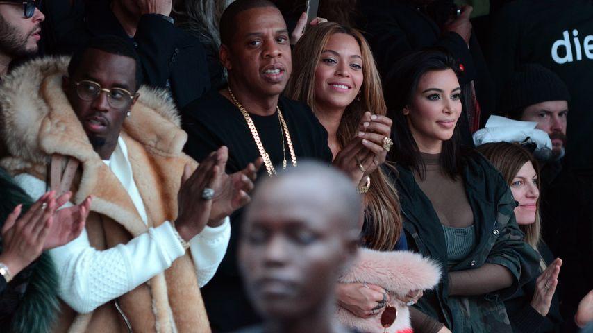 Kim Kardashian, Beyonce, Jay-Z und P. Diddy